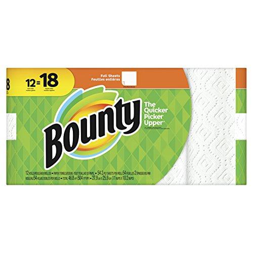 Bounty 2-ply Paper Towel Giant Rolls, 11