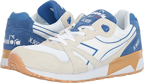 Diadora Unisex N9000 III White/Princess Blue 13.5 Women/12 Men M US