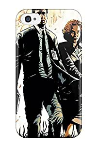 Donald P Reed Design High Quality Mulder And Scully X Files Cover Case With Excellent Style For Iphone 4/4s