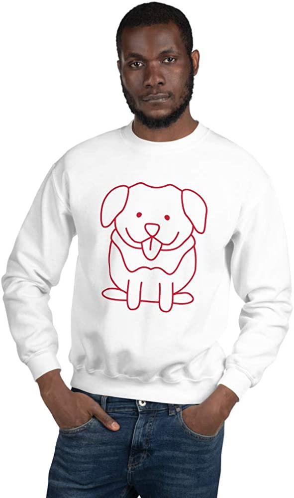 Dog Illustration Unisex Sweatshirt