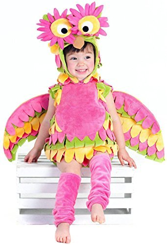 [Princess Paradise Baby's Holly The Owl Deluxe Costume, As Shown, 6 to 12 months] (Infant Owl Halloween Costumes)