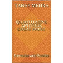 Quantitative Aptitude Cheat Sheet: Formulae and Fundas