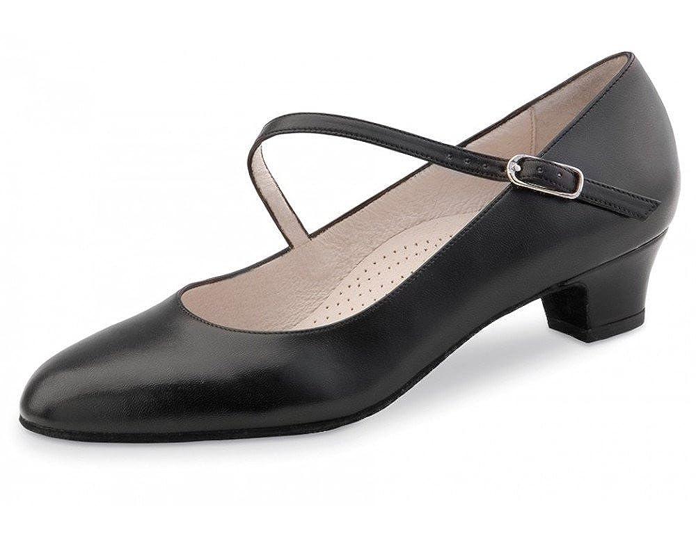 Comfort Line Werner Kern Womens Cindy 3.4 Black Leather