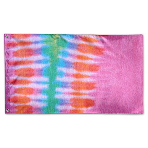 Oyhra Inspirational Tie-dye Colorful Multicolor Winter Patio