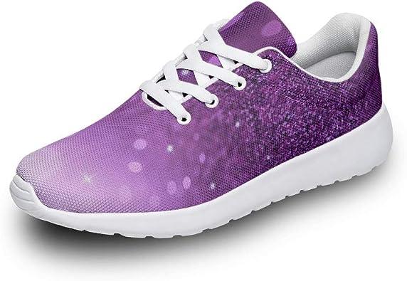 BTJC8 Zapatillas de Running Unisex, Color Morado, para Estudiantes, Casuales, de Verano, de Corte bajo, Ligeras: Amazon.es: Zapatos y complementos
