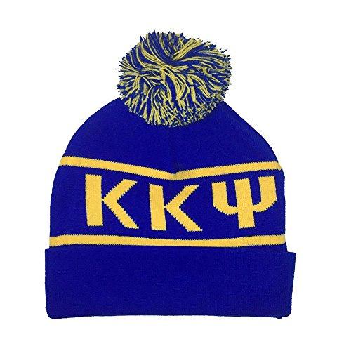 Kappa Kappa Psi Fraternity Letter Winter Beanie Hat Greek Cold Weather Winter KKPsi - Kappa Beanie