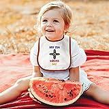 Toddler & Baby Bibs Burp Cloths My Zia Loves Me