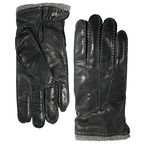 bloomingdales-mens-leather-cashmere-lined-gloves-grey-xl