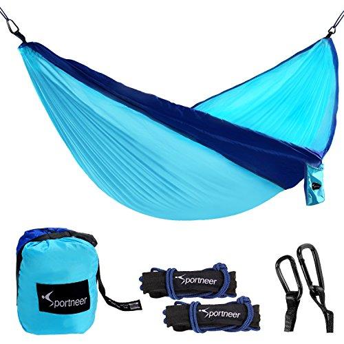 Sportneer Portable Hammock Parachute Carabiners product image