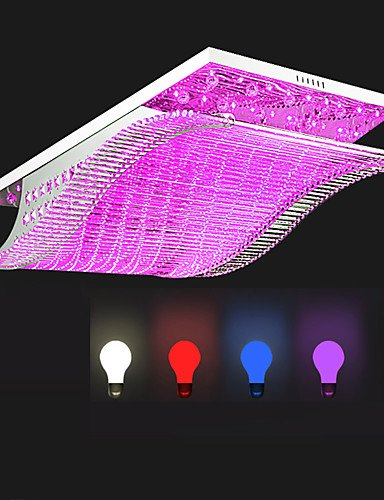 SDYJQ 20W Modern Creative LED Crystal Glass Ceiling Lamp Flush Mount ...