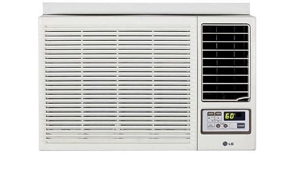 LG Electronics 18.000 btu ventana aire acondicionado frío y calor con mando a distancia: Amazon.es: Hogar