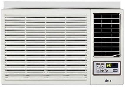 LG Electronics 18.000 btu ventana aire acondicionado frío y calor con mando a distancia