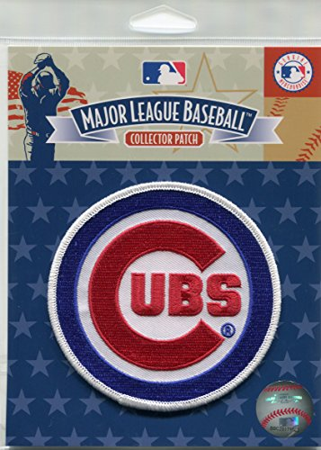 Chicago Cubs Official Licensed Major League Baseball Primary Team Logo Jersey Patch (Chicago Cubs Collectibles)