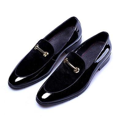 100% genuino oficial guapo Los Hombres Visten Zapatos de Charol Novio Boda para Hombre ...