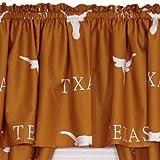 NCAA Texas Longhorns Orange Collegiate Window Valance
