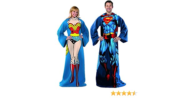 Technopro DC Comics y la mujer Maravilla cómodo mantas 2 pc diseño ...