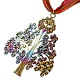 Bodhi Tree of Enlightenment Ornament with Ribbon