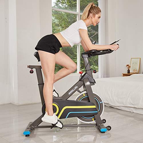 🥇 ANCHEER Bicicleta Spinning E-14320