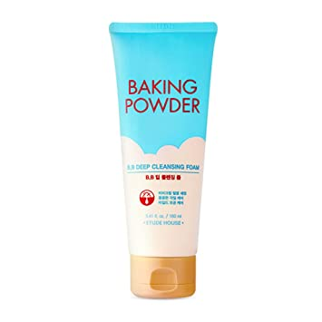 Baking Powder Pore Face Cleansing Foam - 5.4 fl. oz. by Etude House (pack of 12) 24 Pack - ChapStick Classic Spearmint Lip Balm, 0.15oz Each