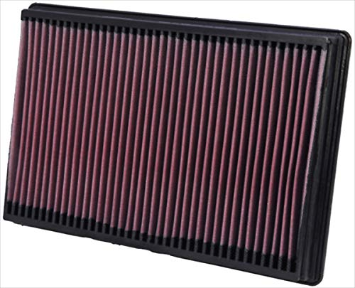 K&N engine air filter, washable and reusable:  2002-2019 Dodge Ram Truck V6/V8/V10 (1500, 2500, 3500, 4500, 5500) 33-2247
