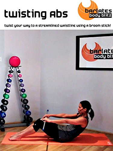 Barlates Body Blitz Pilates Broomstick Abs Workout