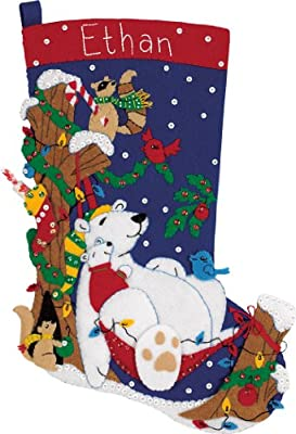 "Dimensions Counted Cross Stitch 18"" Stocking Kit"