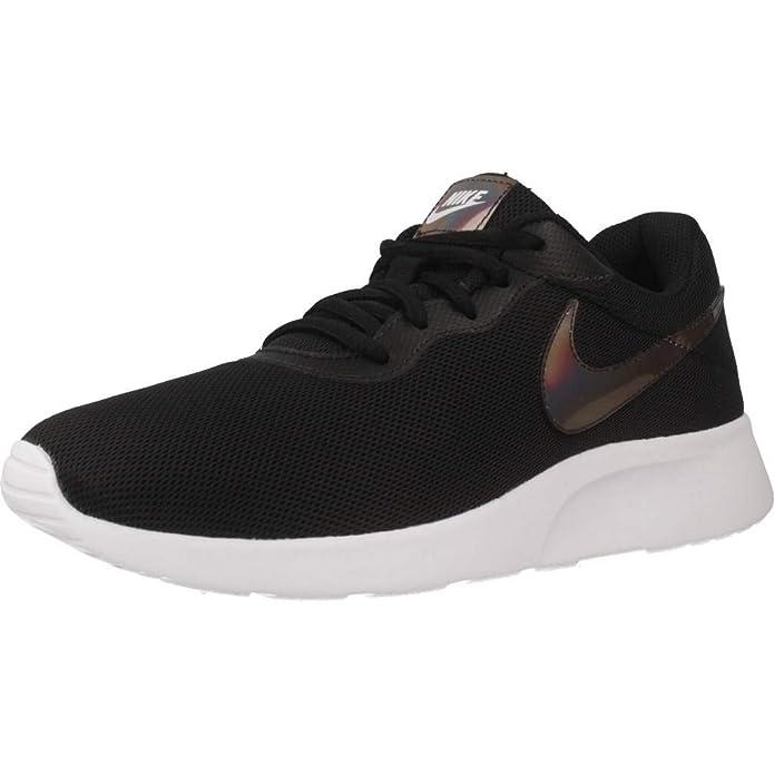 Nike Tanjun Damen Sneaker Laufschuhe Schwarz