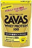 ザバス ホエイプロテイン100 バナナ味 【17食分】 357g