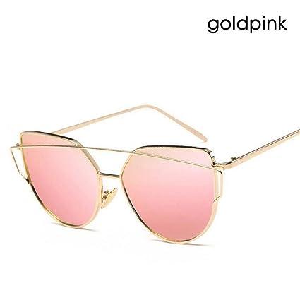 sevenuk Mujeres Espejo Lentes Designer Sports Retro Vintage Designer Eye  Oversized Sunglasses Gafas de sol Cat 8411b0f47994
