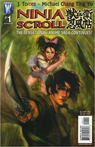 Amazon.com: NINJA SCROLL # 1-3