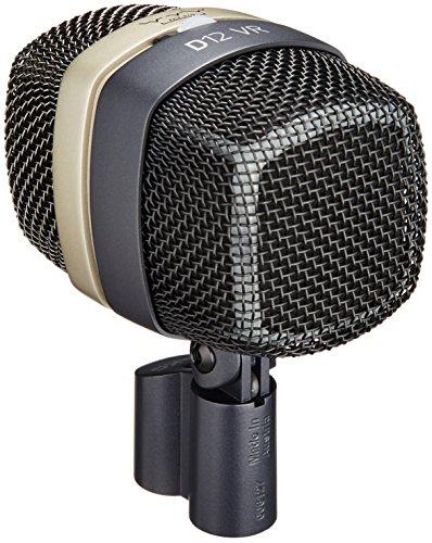 AKG Acoustics D12 VR Large Diaphragm Cardioid Dynamic Kick Drum Microphone with 3 Active Sound Shapes, 17-17000Hz Frequency Response, <200 Ohms Impedance