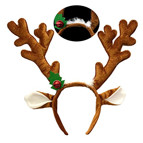 Christmas Reindeer Antlers Headband Easter Birthday Party Favor (style2) Girls Reindeer Costume