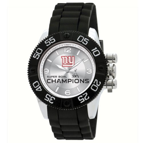 Game Time Mens Nfl Bea Nyg Sup46 Beast Super Bowl 46 New York Giants Watch