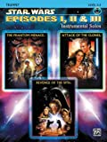 Star Wars Episodes I, II and III Instrumental Solos, John Williams, 0757941532