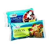 Grecian Delight Precooked Gyro Chicken Sandwich - 12 per case.