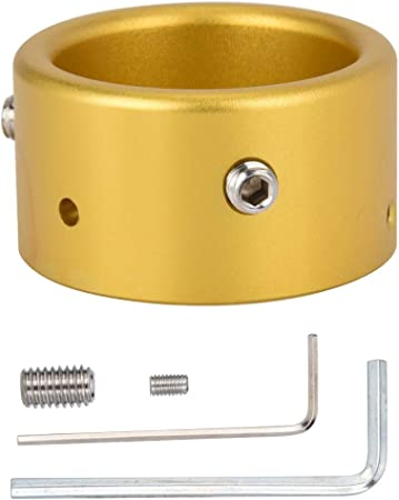 ASHATA Antena de Coche con Anillo de aleación de Aluminio ...