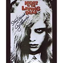 George A Romero Signed / Autographed Night Of The Living Dead Movie Poster 8x10 Glossy Photo. Includes FANEXPO Certificate of Authenticity and Proof. Entertainment Autograph Original.