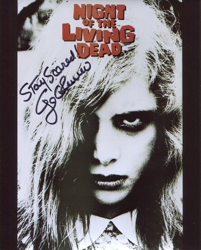 George A Romero Signed / Autographed Night Of The Living Dead Movie Poster 8x10 Glossy Photo. Includes FANEXPO Certificate of Authenticity and Proof. Entertainment Autograph Original. from Star League Sports