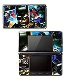 Batman Cartoon Robin Batmobile Begins Dark Knight Rises Video Game Vinyl Decal Skin Sticker Cover for Original Nintendo 3DS System