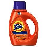 Tide High Efficiency Turbo Clean Liquid Laundry Detergent, Original Scent, 1.09 L (24 Loads)