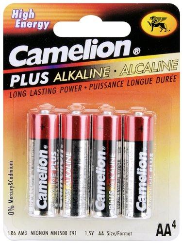 (Alkaline Batteries 4/Pkg-AA)