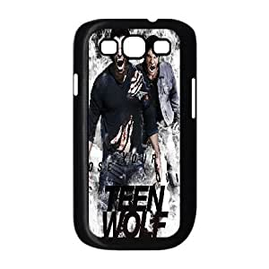 TEEN WOLF 05 para funda Samsung Galaxy S3 9300 funda caja del teléfono celular cubre negro