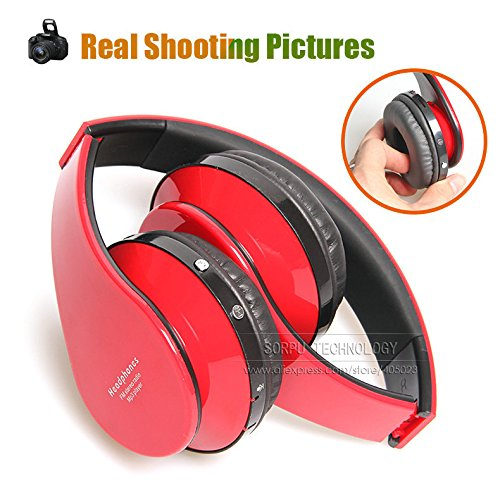 Stereo IDLB Sorpu EB203 HiFi Deep Bass inalámbrica Bluetooth para auriculares cancelación de ruido auriculares con micrófono, tarjeta del TF, radio FM, ...