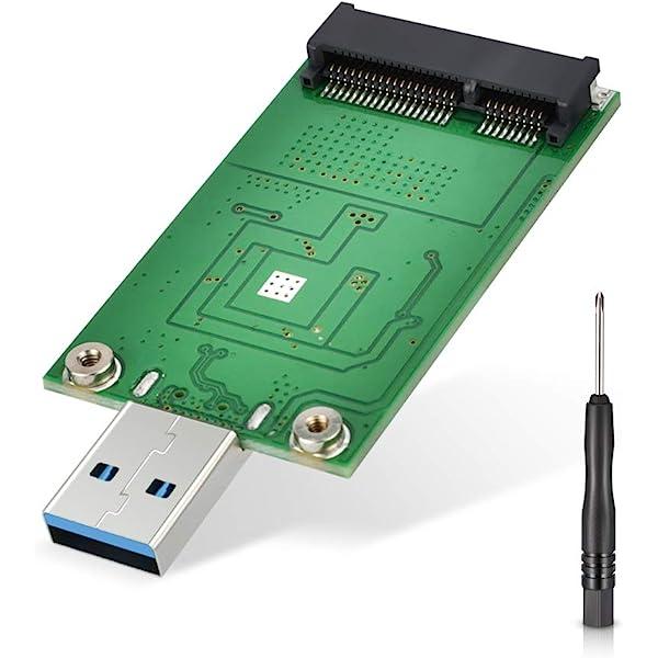 ELUTENG Adaptador mSATA, Adaptador mSATA a USB 3.0, Lector SSD ...