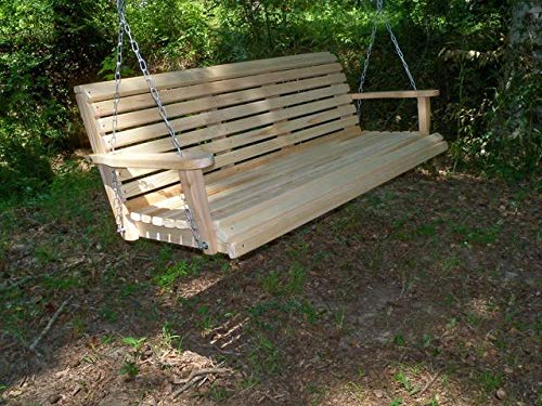 (LA Swings Inc 5ft Cypress Classic Porch Swing - Lead Time 5-7 Business Days)