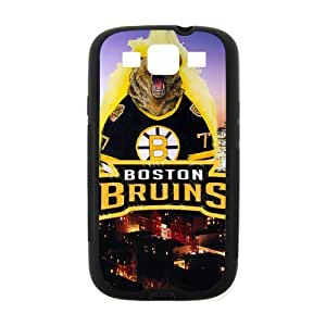 Roaring Bear Not Lose Boston Bruins Samsung Galaxy S3 I900 Case Cover (Laser Technology)