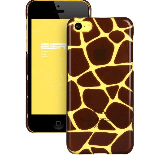 Coque de Protection iPhone 5C - Transparente et Solide - Animal Kingdom Series - Girafe
