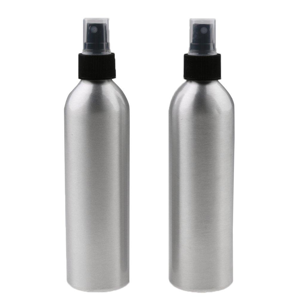 MagiDeal 2xBotella Atomizador Spray de Maquillaje Vaporizador de Vapor de Aluminio de Viaje Perfumes - 100ml