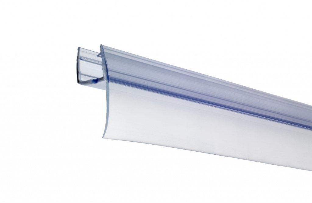 Croydex Rigid Shower Screen Tube Seal Kit Fits 4-6 mm Thick Panels, 1000mm AM161432 CXAM161432