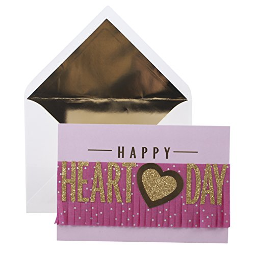 Hallmark Signature Valentine's Day Greeting Card (Gold Heart)